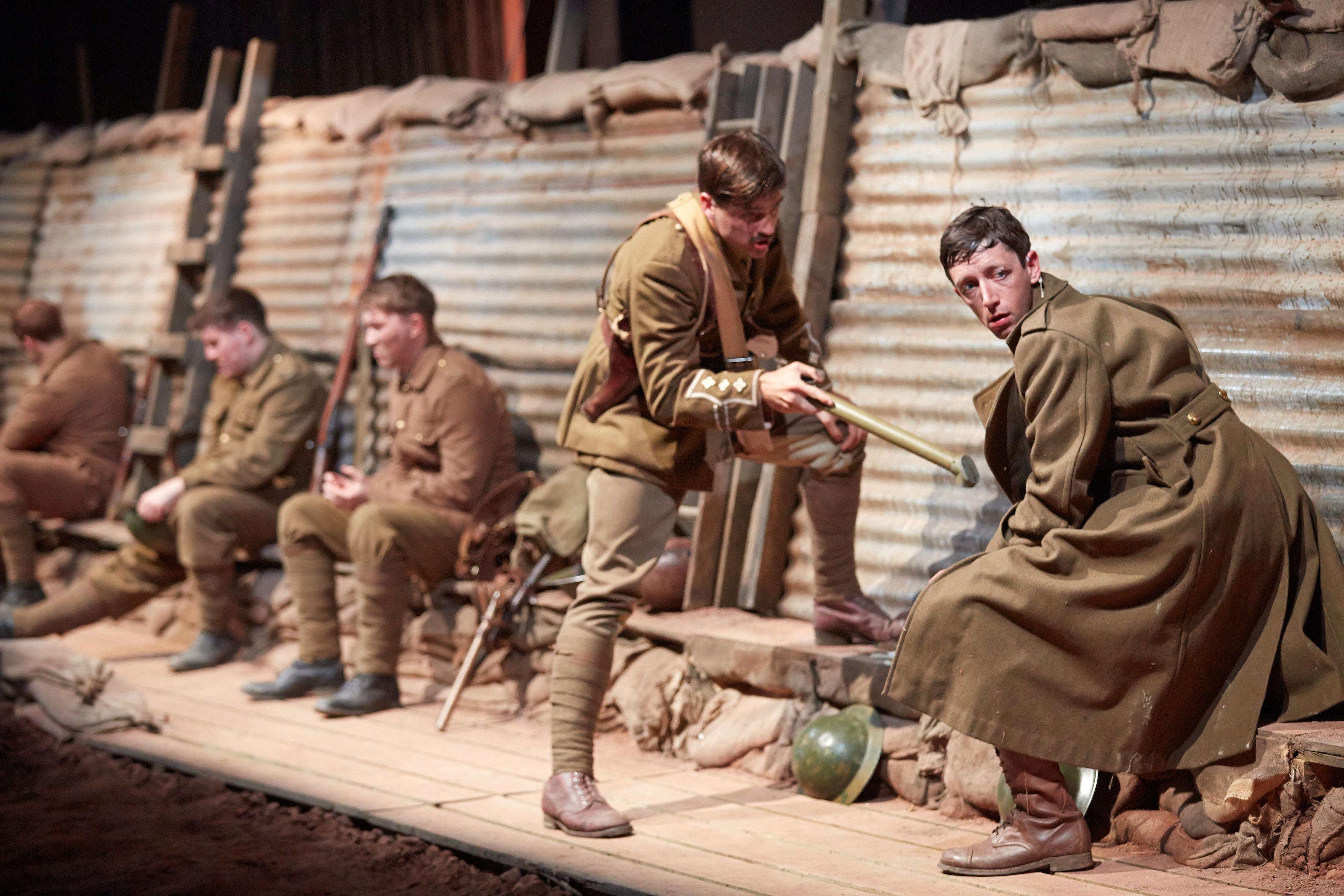 Mametz, National Theatre Wales. Image credit - Mark Douet