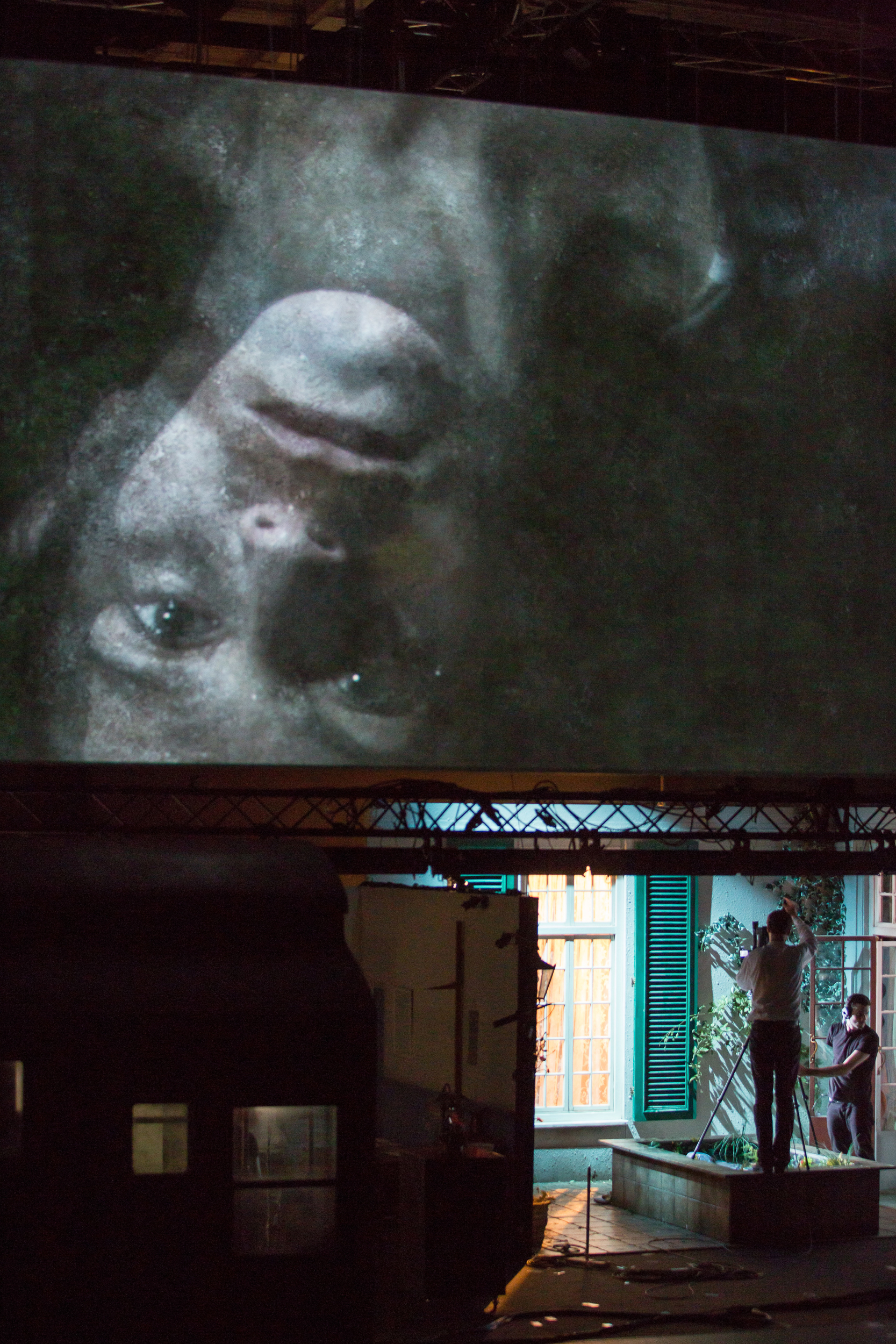 The Forbidden Zone, Katie Mitchell, 2014 © Salzburger Festspiele Stephen Cummiskey