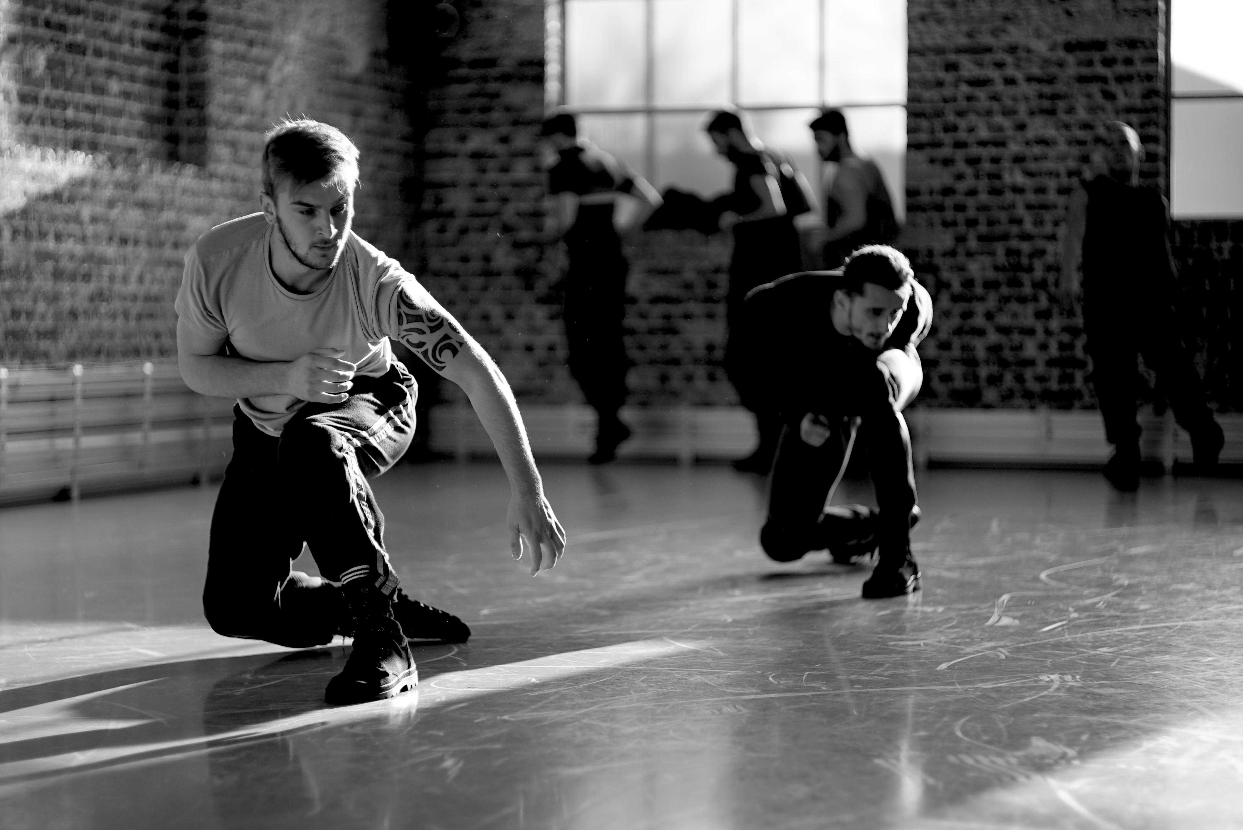 Young Men rehearsal shot 17 December 2014