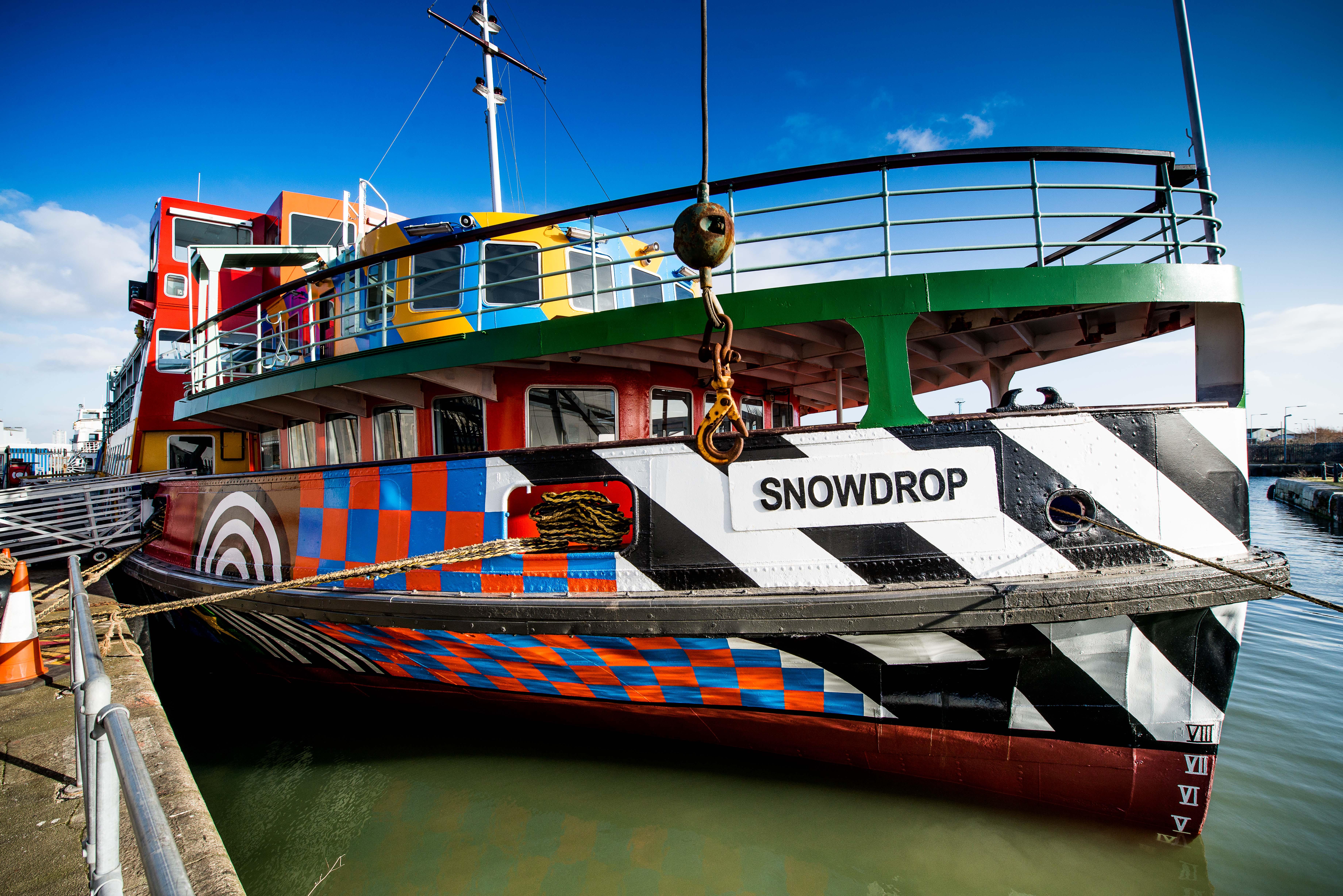 Dazzle Ship - Peter Blake