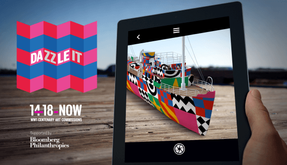 Dazzle It app features 4th dazzle ship