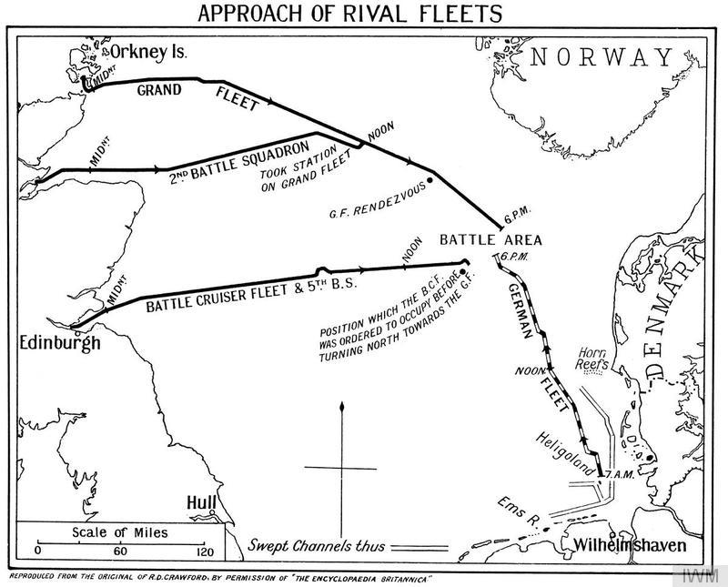 APPROACH OF RIVAL FLEETS