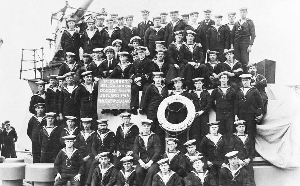 The Battle Of Jutland 31 May 1916: The gun crew of