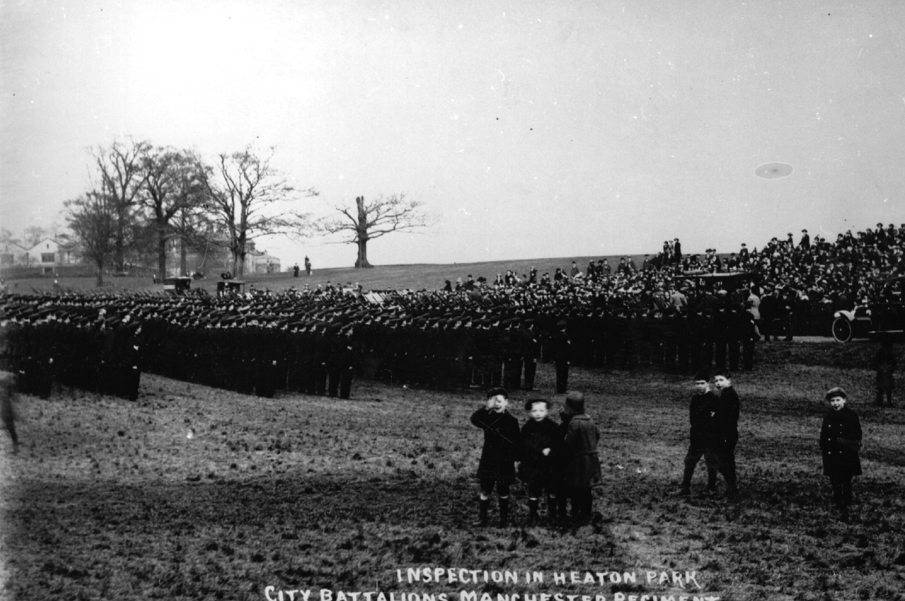 Heaton Park_Inspection City Battalions_Archive Plus
