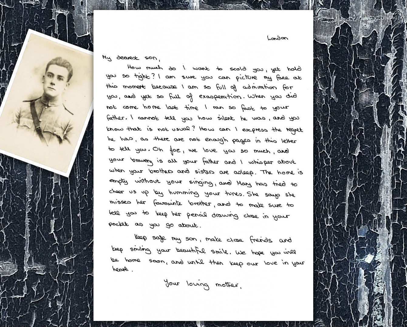 Letter To An Unknown Soldier - Carla Allen