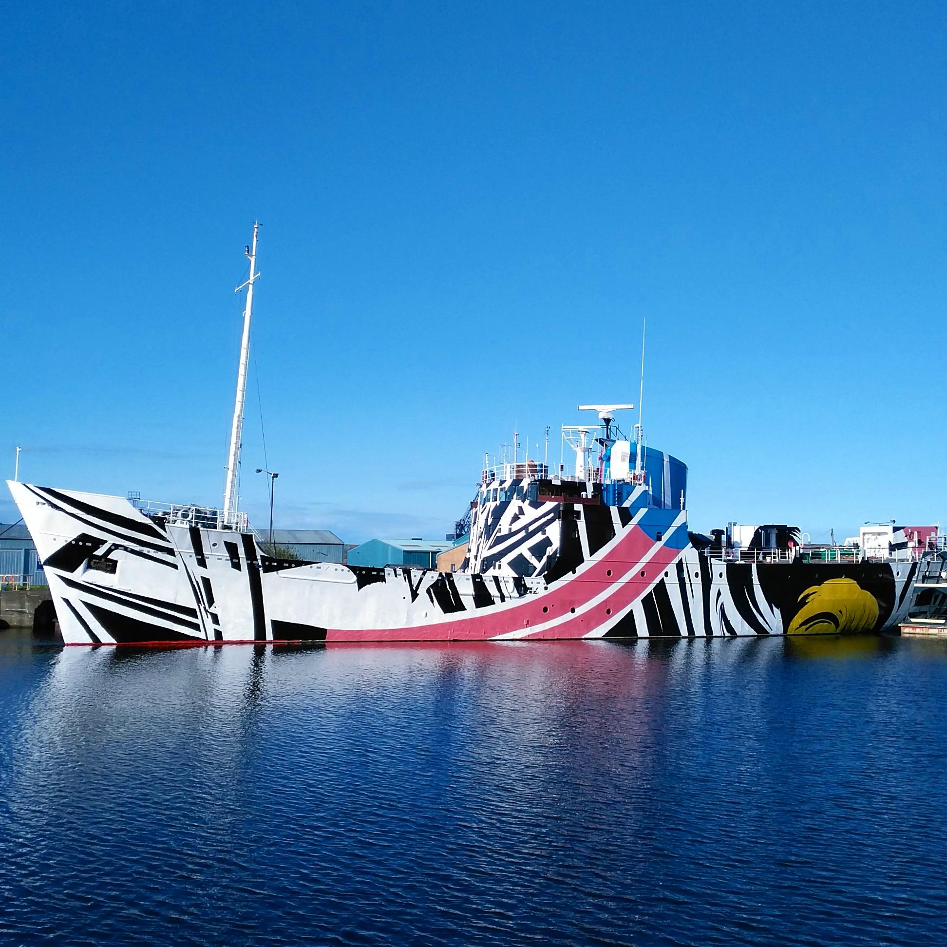 Dazzle Ship - Scotland