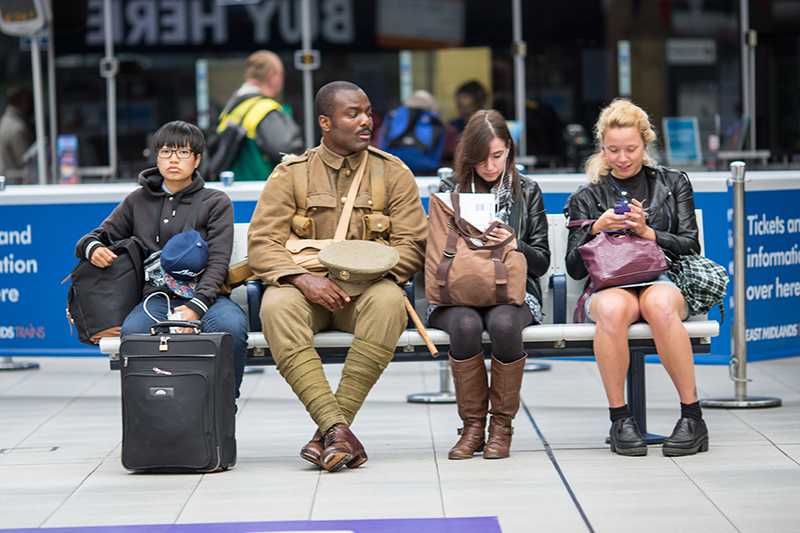 'we're here because we're here' conceived and created by Turner Prize-winning artist Jeremy Deller in collaboration with Rufus Norris. Photo ©Joe Priestley