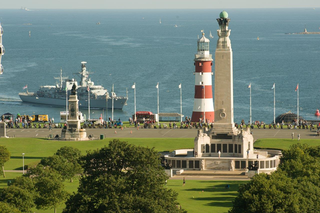 CWGC Plymouth Naval Memorial; Courtesy of Mike Sheil
