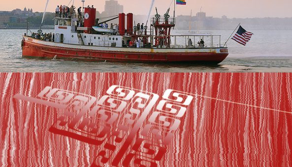 """ICONIC NEW YORK FIREBOAT TO BE """"DAZZLED"""" FOR WW1 CENTENARY"""