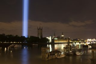 spectra by Ryoji Ikead, 2014. View from Lambeth Bridge. Photo by Olivia Rutherford. (6)