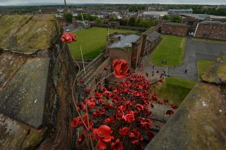 Poppies: Weeping Window at Carlisle Castle