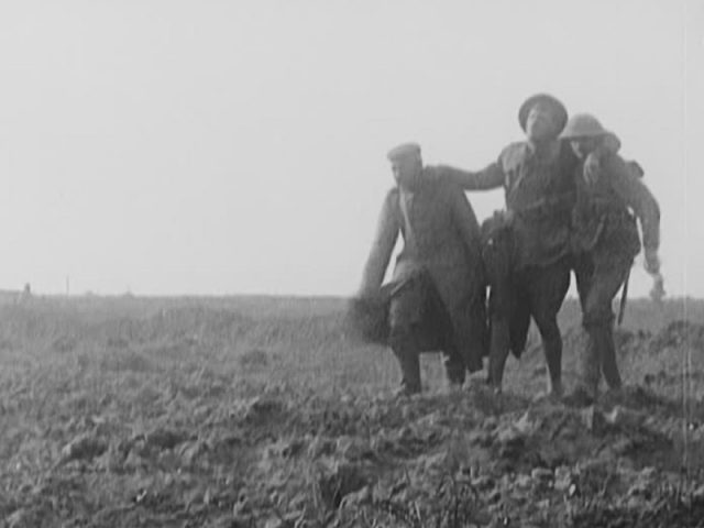 Photo of WWI soldiers
