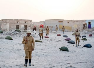Soldiers in Rubble Village 2