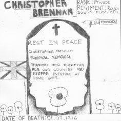 Joe for Christopher Brennan