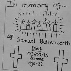 Kaitlyn He for Samuel Butterworth