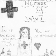 Rosy for the nurses of WWI