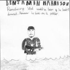 Justin for Benjamin Harrison