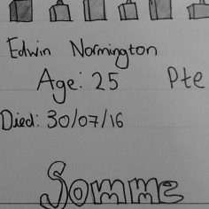 Om Pa for Edwin normington