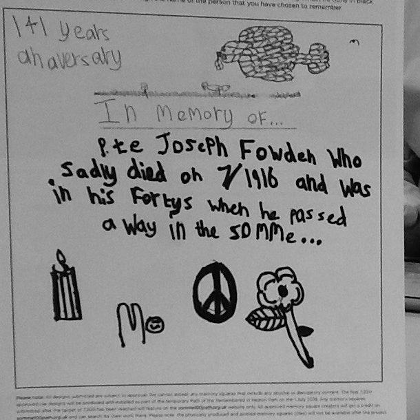 Isa Ir for Joseph Fowden