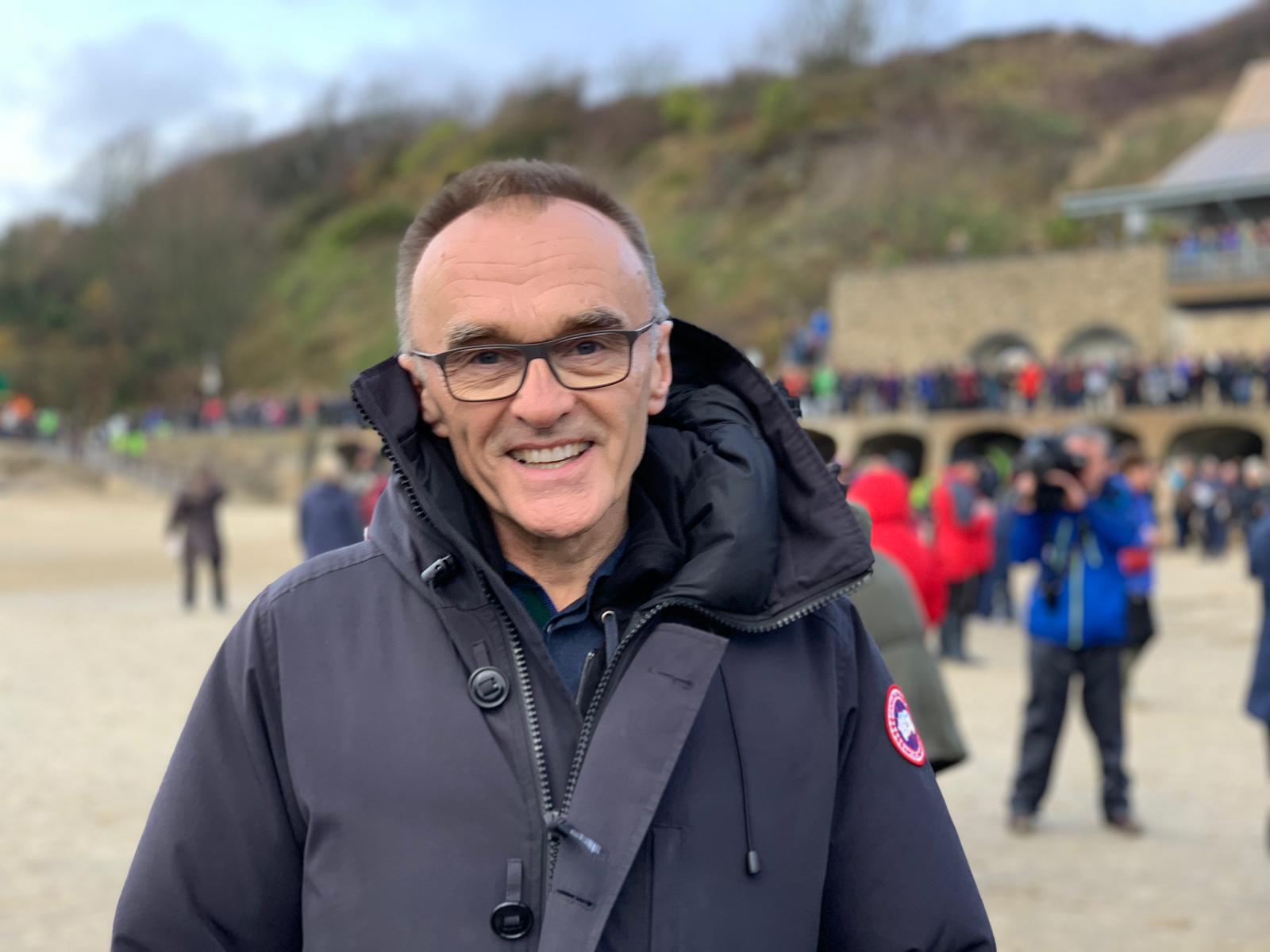 Watch Danny Boyle on Facebook Live from Folkestone image